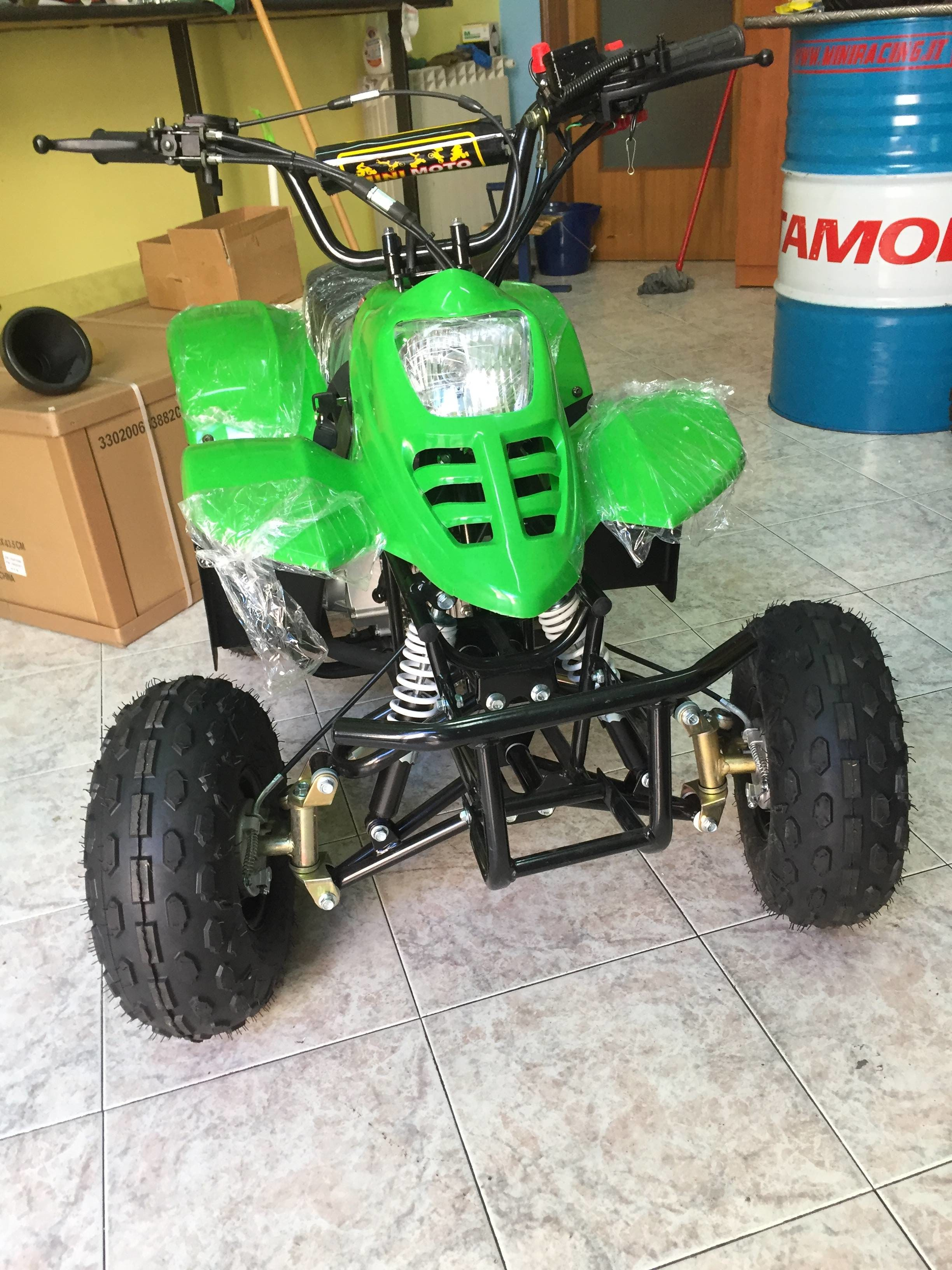 Hmparts Cerchi Lega Metà 4Zoll Typ34 Gas Scooter Mini Quad